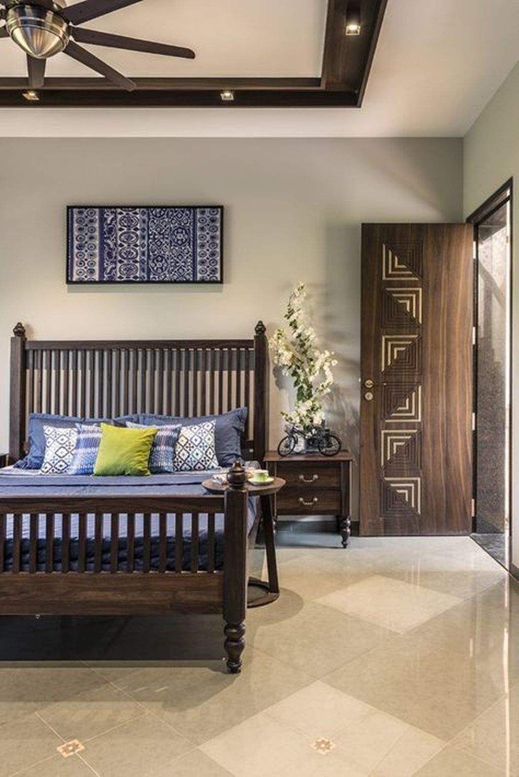 34 Beautiful Indian Home Decor Ideas in 2020   Bedroom ...