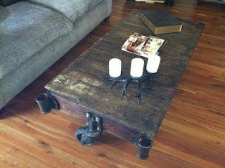 Fabulous Antique Railroad Cart Turned Into Coffee Table The Wheels Interior Design Ideas Tzicisoteloinfo