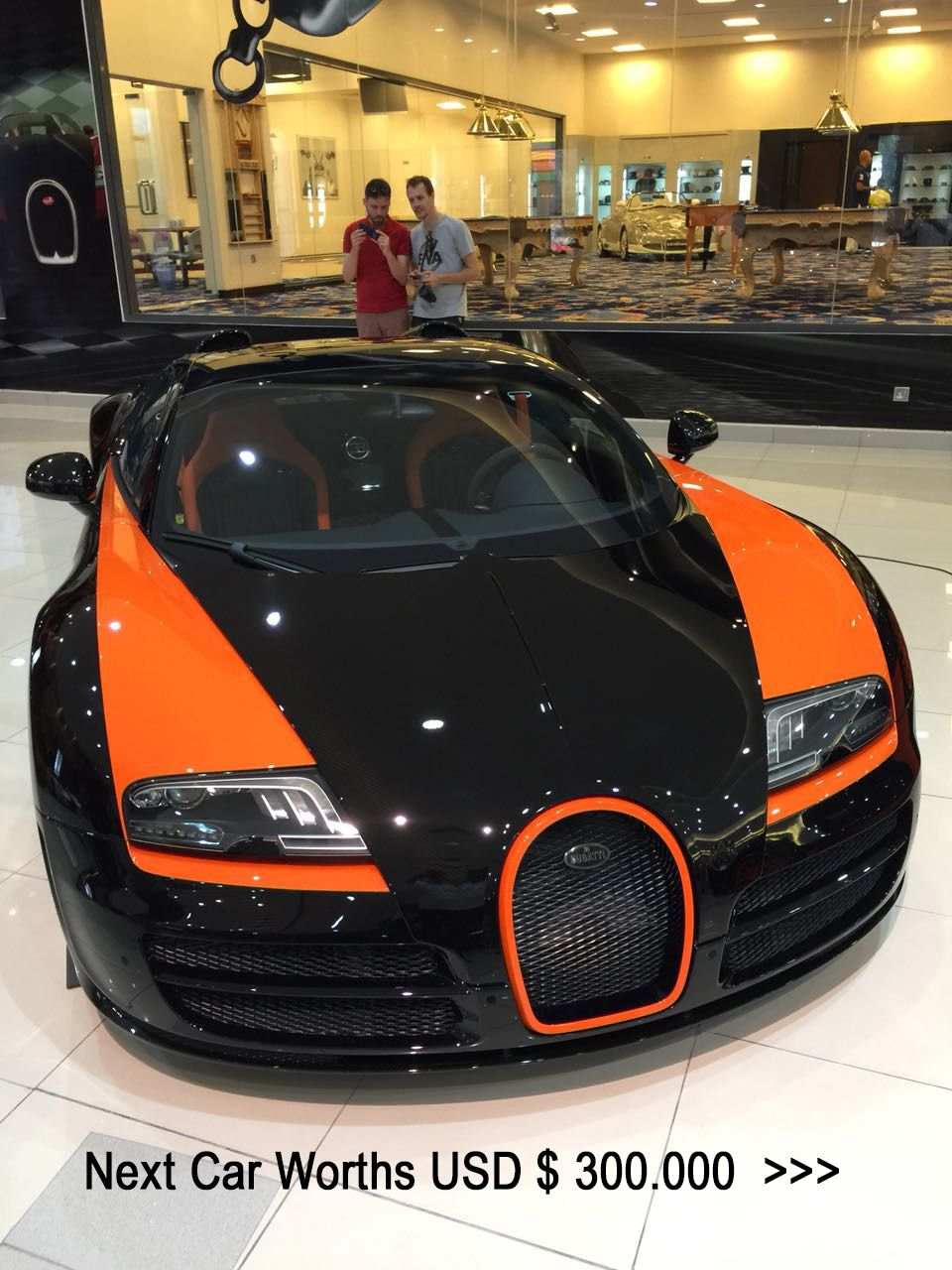 The collection of luxury cars of the Sheikh of Dubai