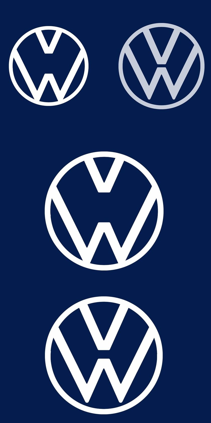 Volkswagen Reminds Us To Keep Our Distance With New Logo The V And The W Get The Message In 2020 Volkswagen Reminder Logos