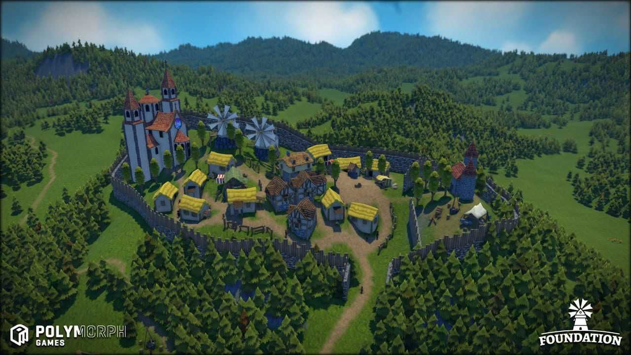 Foundation Paradox Interactive Game Engine City Buildings