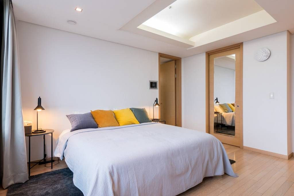 bright modern  river view coex gangnam  apartments for