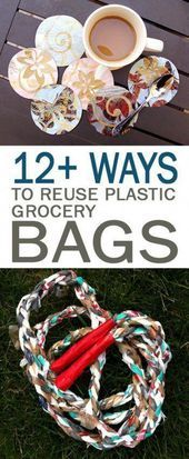 12 Ways to Reuse Plastic Grocery Bags  101 Days of Organization 12 Ways to Reuse Plastic Grocery Bags  101 Days of Organization How to Reuse Grocery Bags Reusing Grocery...