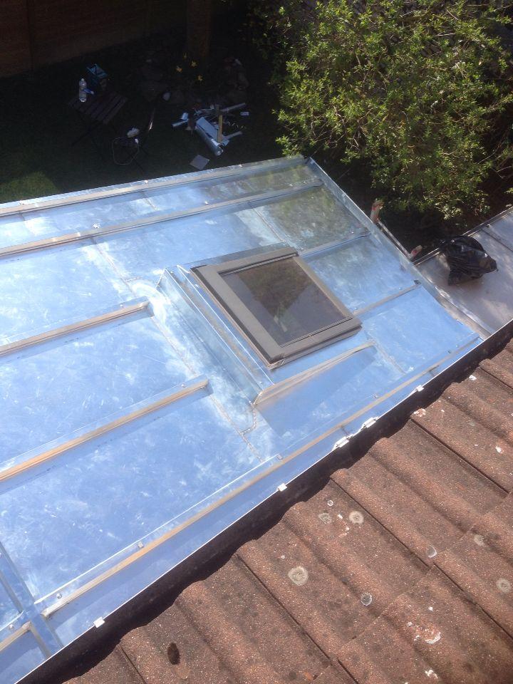 Chantier roncq Couverture Zinc Pinterest Couverture zinc - maison ossature metallique avis