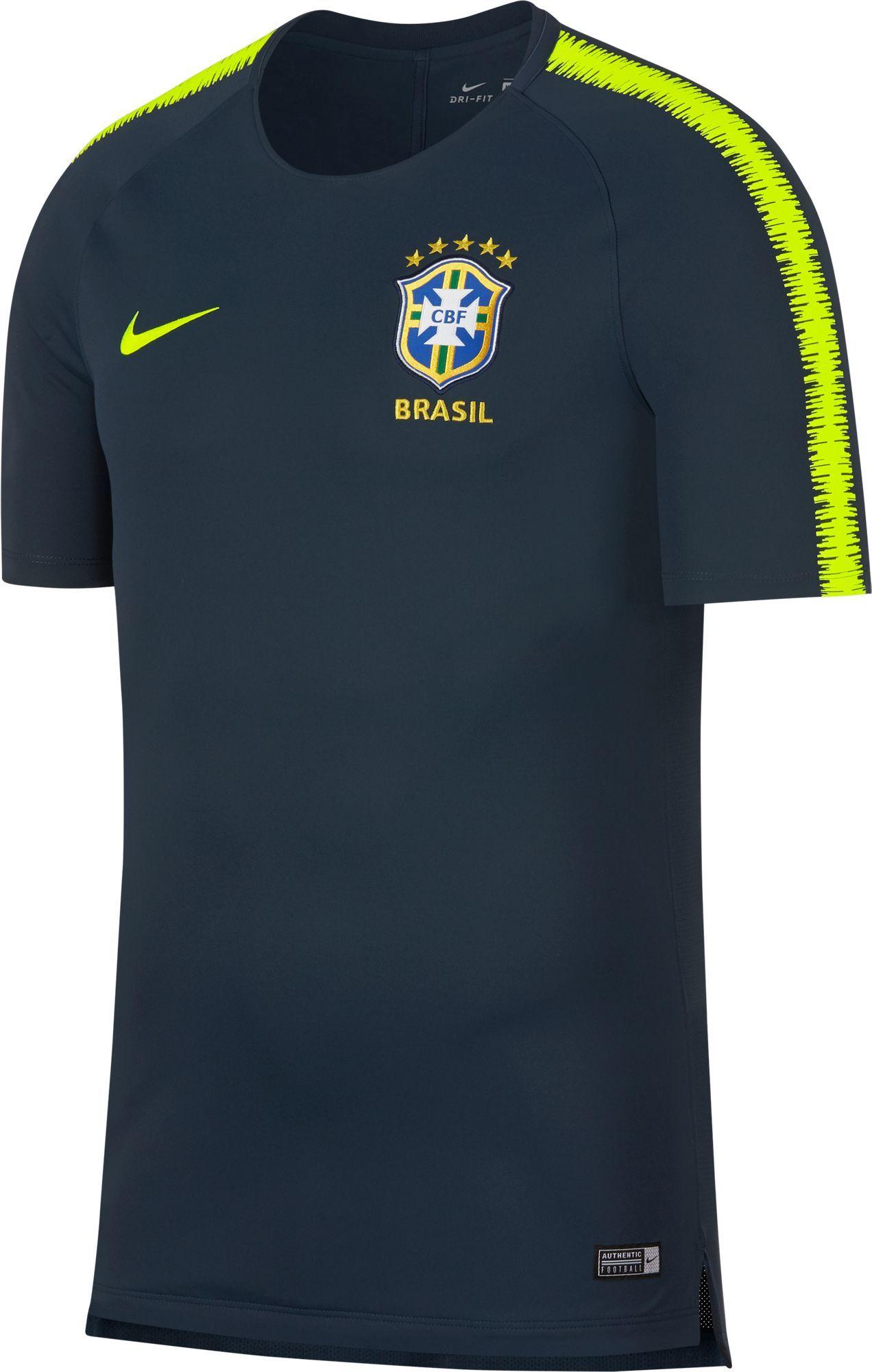 Nike Men s 2018 Fifa World Cup Brazil Navy Training Top a8c0eb895a28d