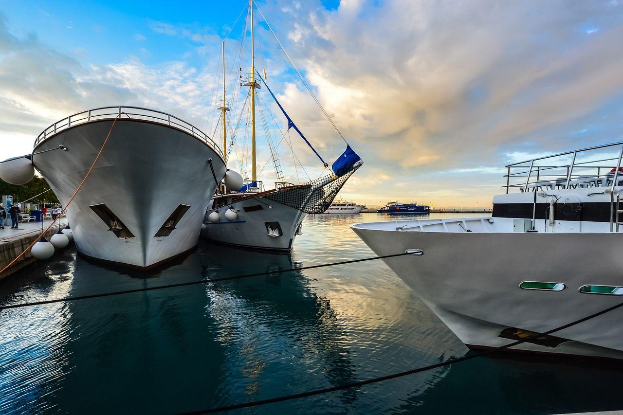 Boat water transportation system sea boat water