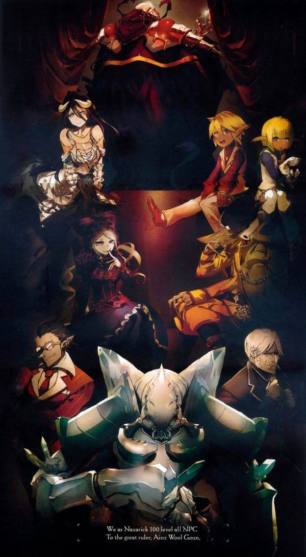 Overlord Ainz Ooal Gown Momonga Floor Guardian Pandora