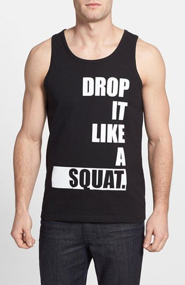 8239abe4eb754 Men s State Fitness  Drop It Like a Squat  Tank Top