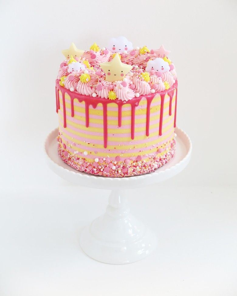 Tremendous Birthday Cake Girl Almies Bakery Dripcake Birthdaycake Funny Birthday Cards Online Hetedamsfinfo