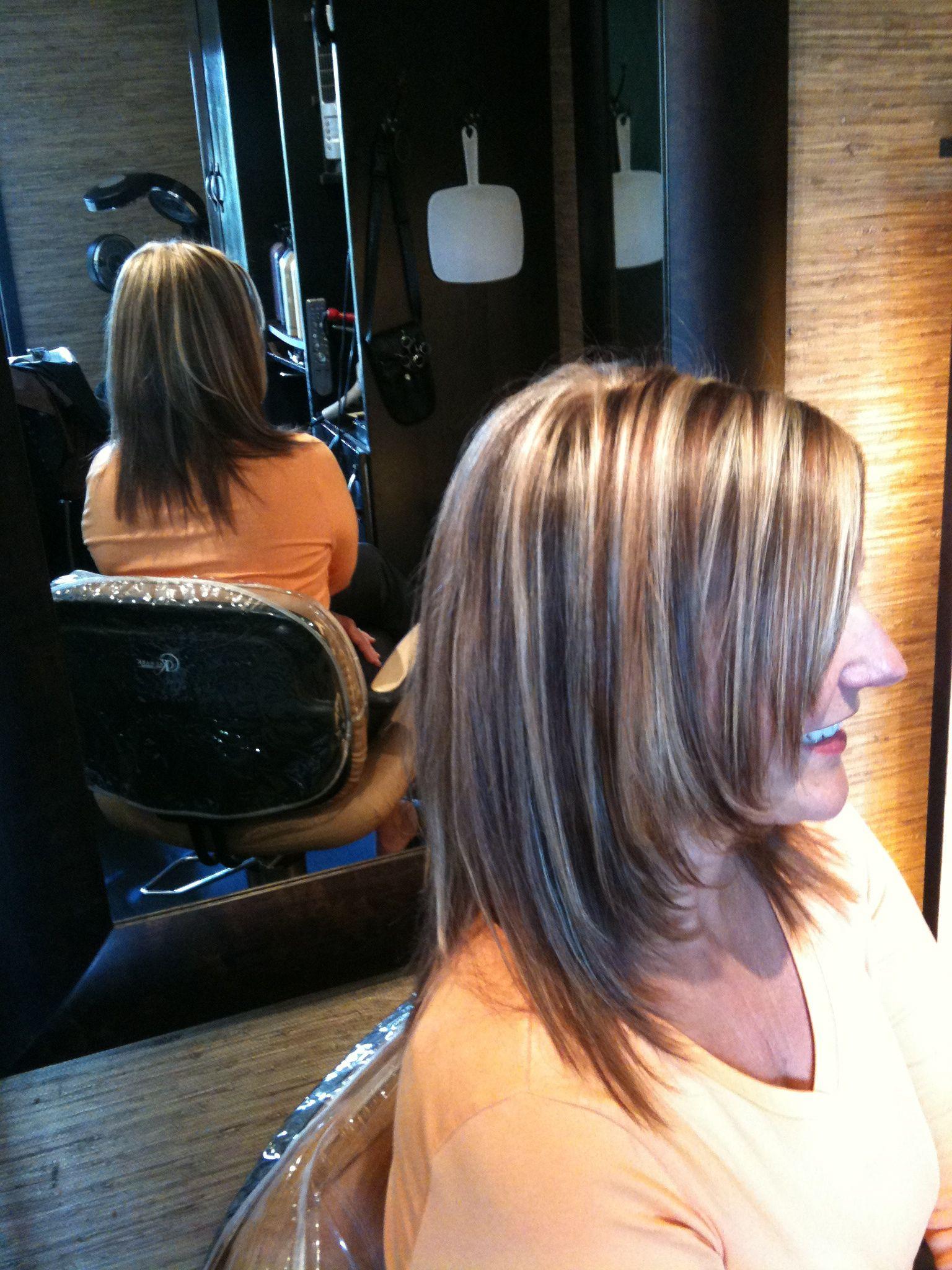 The Best Gray Coverage In Seattle Seattle Hair Salon Hair Styles Blending Gray Hair Gray Hair Highlights