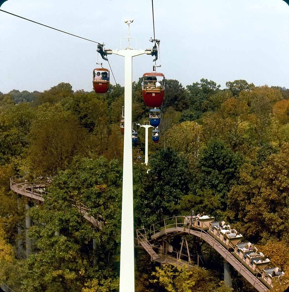Nashville Opryland Amusement Park Rides