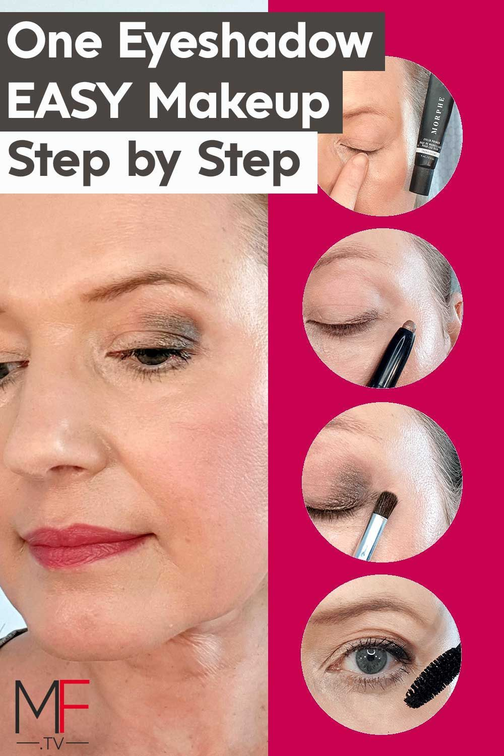 How to apply stick cream eyeshadow Hooded eyes in 2020