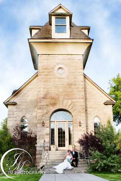 This is such a beautiful wedding venue and the Historic Shelton Church in Idaho Falls!