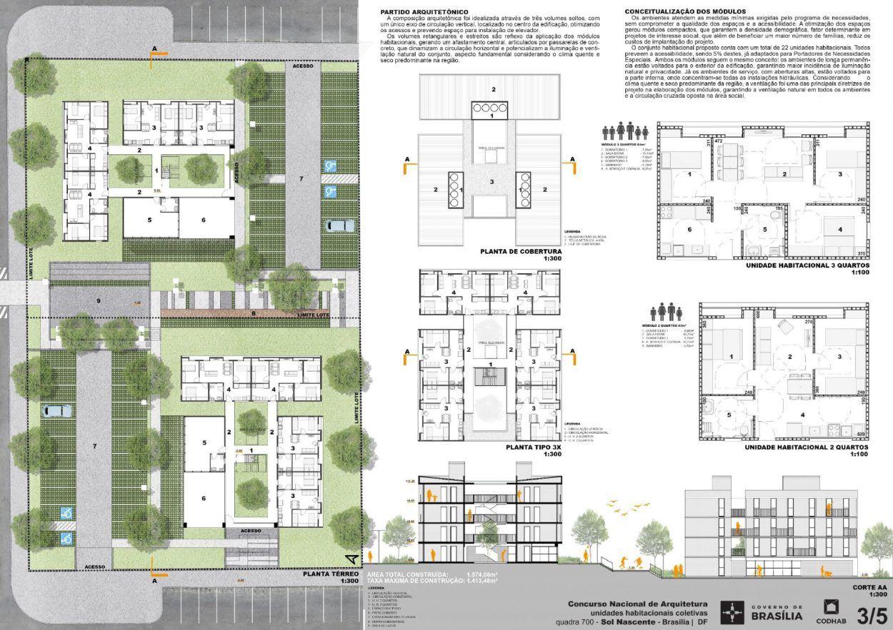 Suficiente Premiados – Habitação Coletiva – Sol Nascente – CODHAB-DF | Sol  KX54