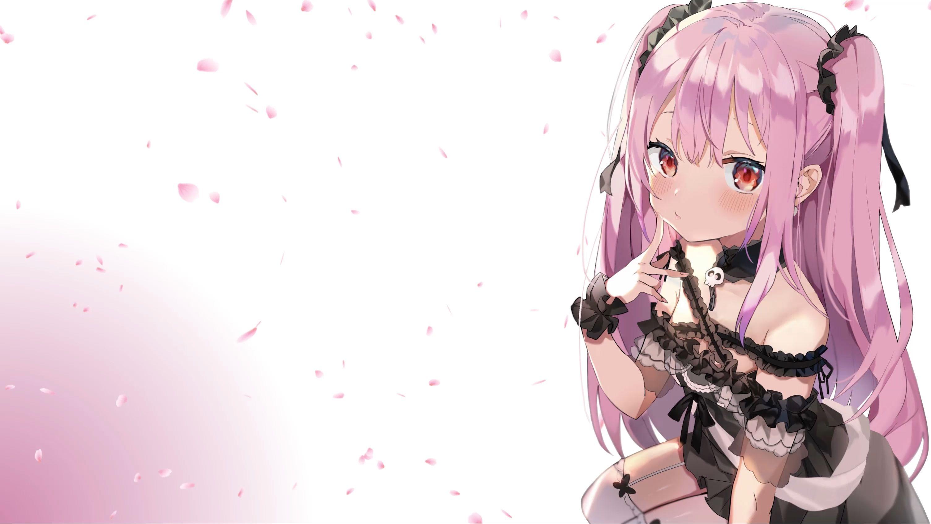 Vtuber Uruha Rushia 2k Wallpaper Engine Anime Wallpaper Anime Wallpaper Size Cute anime wallpaper engine