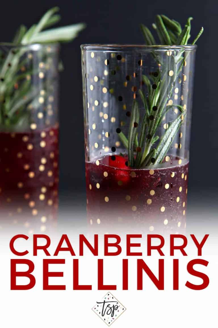 Cranberry Bellinis | The Speckled Palate