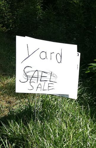 Funny Garage Sale Sign For Sale Sign Yard Sale Signs Garage