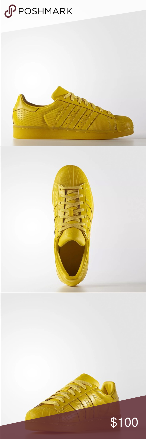 Adidas Superstar Scarpe Gialle, Uomini E Donne, Boutique Adidas