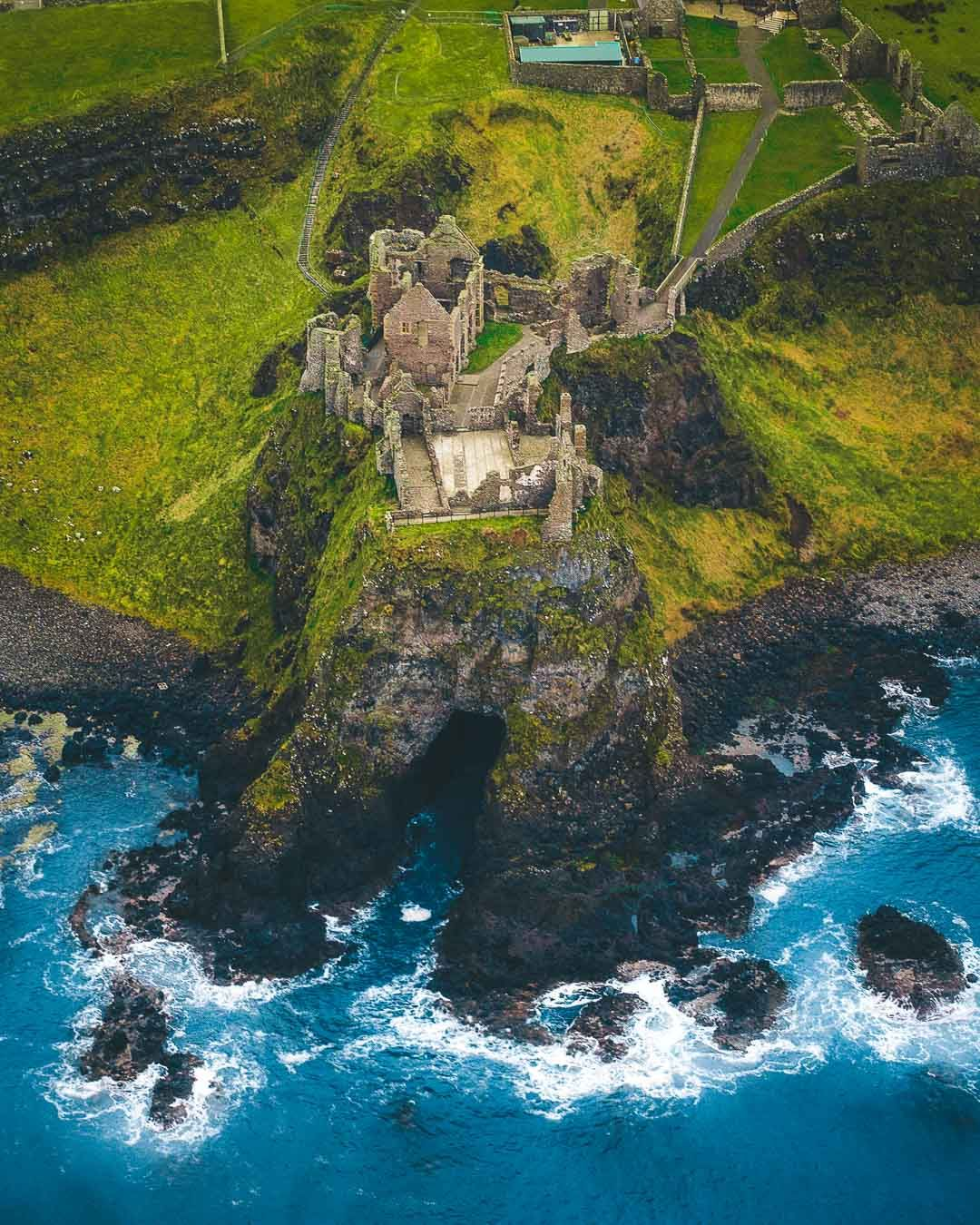 Dunluce Castle, Northern Ireland - Epic Medieval Castle on the Cliffs