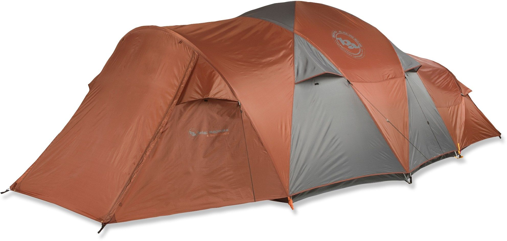 Big Agnes Flying Diamond 8 Tent at REI.com  I absolutely love this tent. It holds up well in wind and rain.