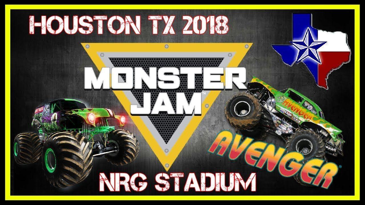 Monster Jam Nrg Stadium Houston Texas Monster Jam Nrg - Monster car show houston tx