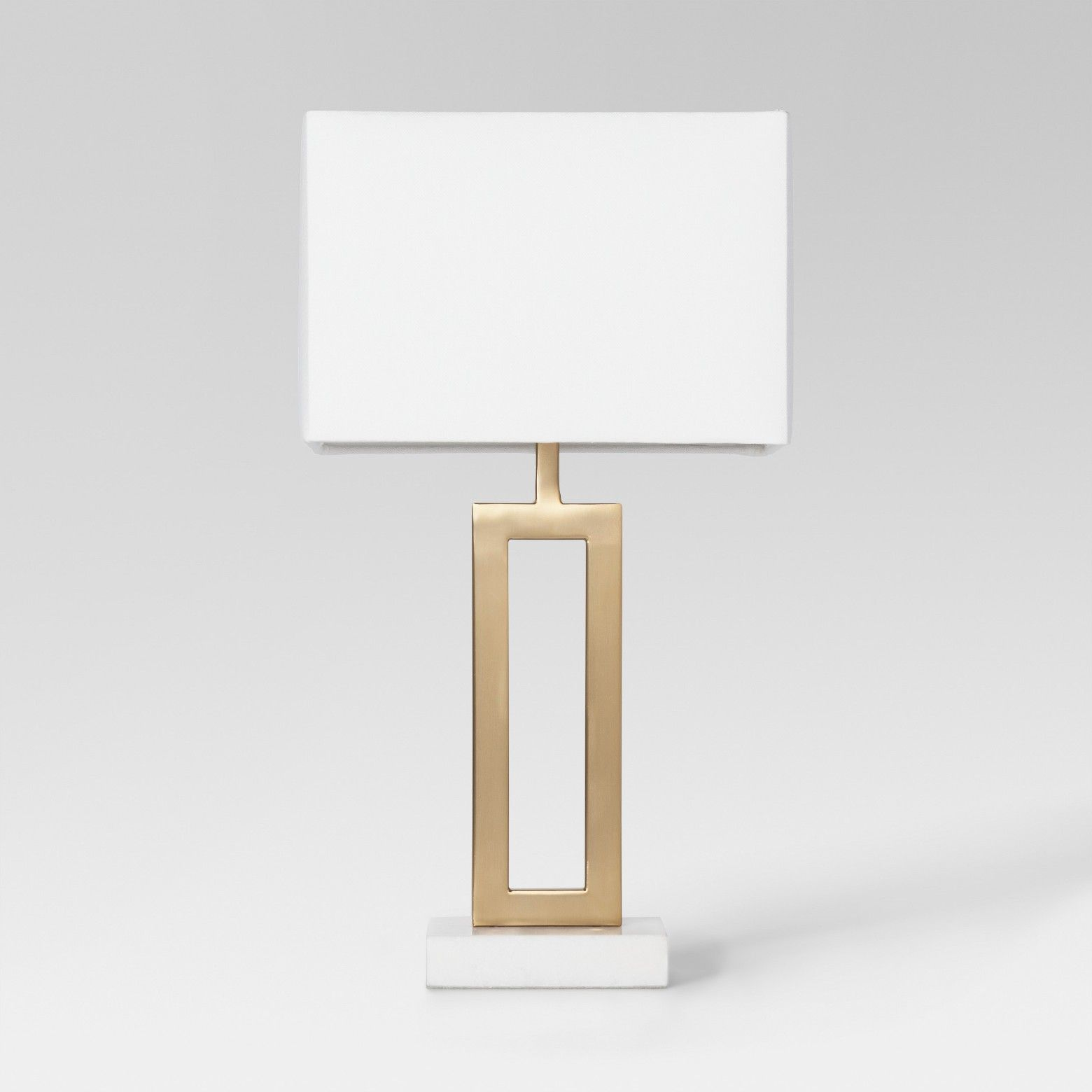 This Open Rectangular Weston Small Table Lamp Base From Project