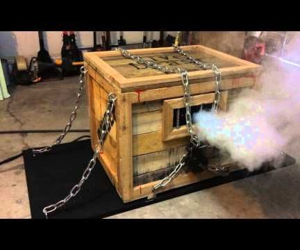 Monster In A Box Halloween Prop Part 2 The Guts Pallet
