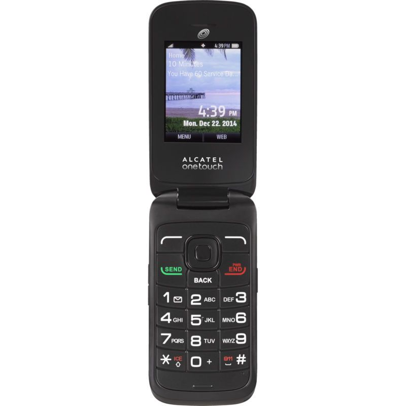 Tracfone Alcatel A394c 3g Prepaid Cell Phone With Double Minutes