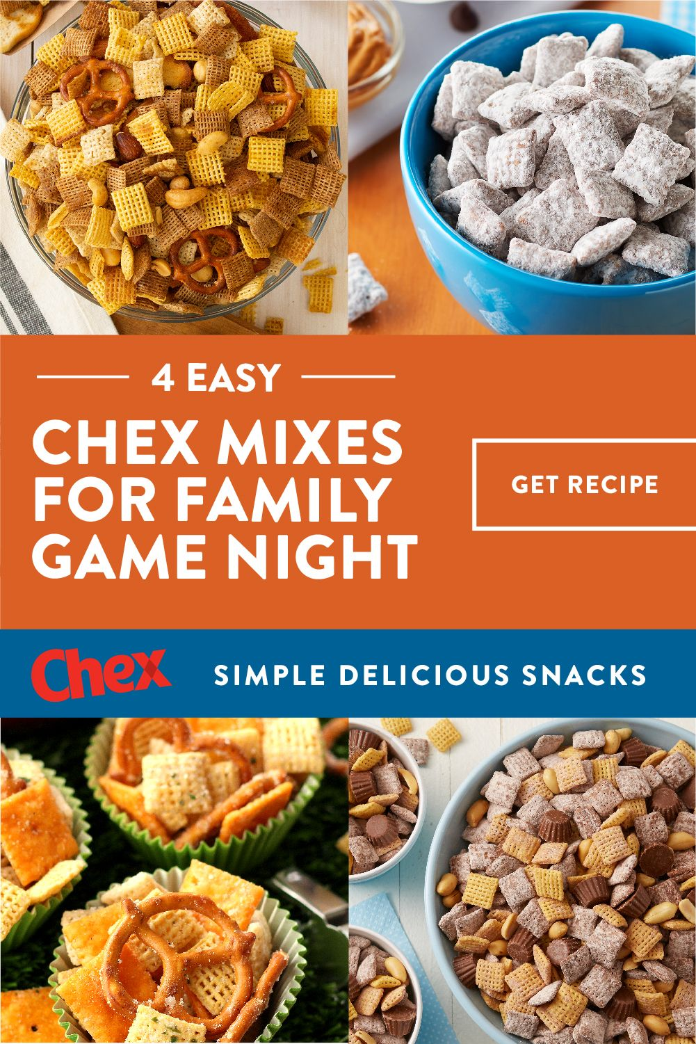 Chex Cereal And Chex Products Chex Com Chex Mix Cheesy Ranch Chex Mix Chex Mix Recipes