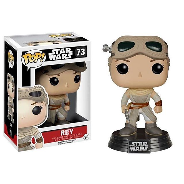 Funko POP! Star Wars: Episode VII The Force Awakens # 73 Rey (Hot Topic Exclusive)