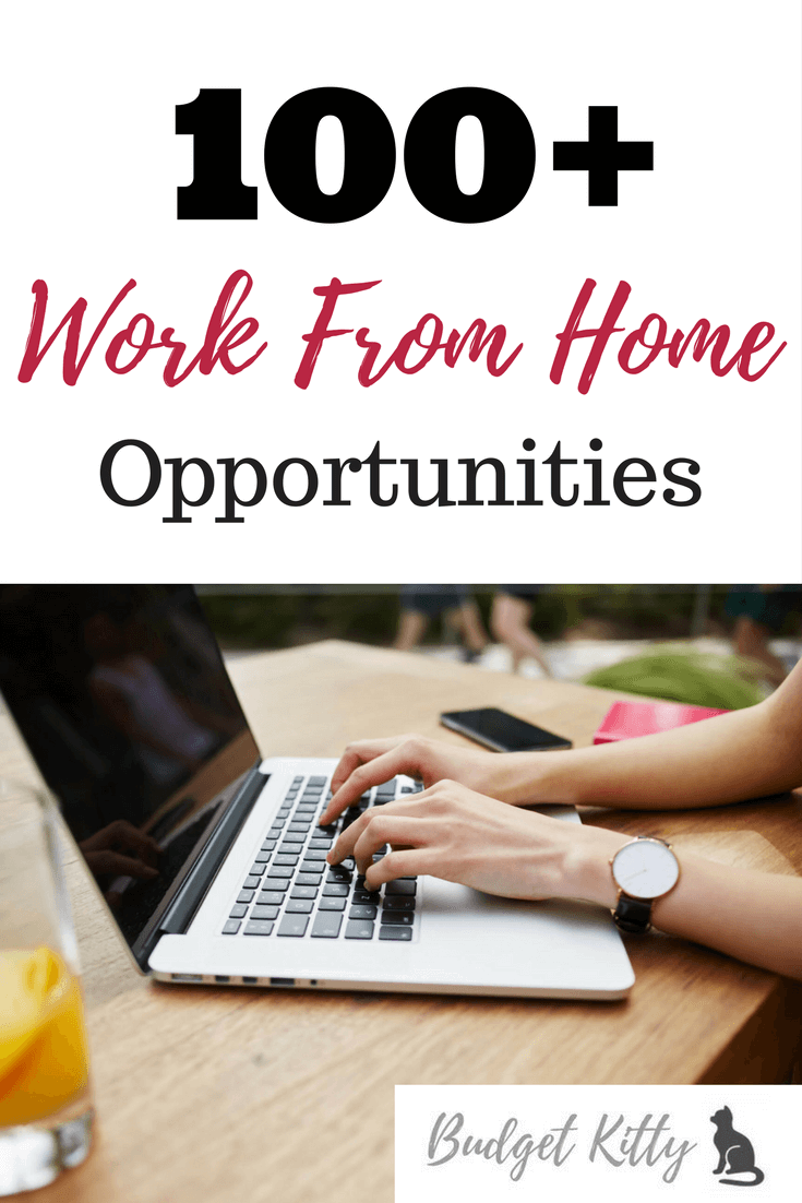 100+ Legitimate Work From Home Opportunities That Actually Work ...