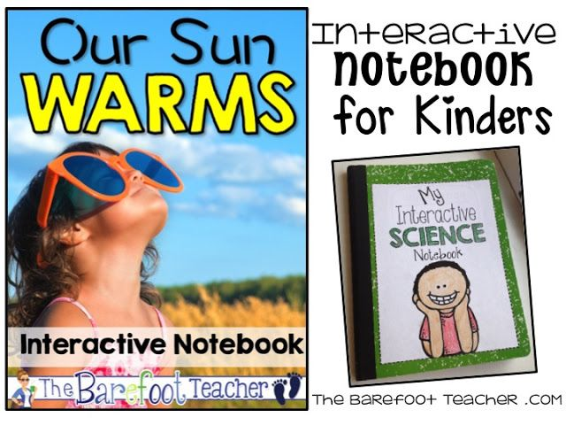 Science Interactive Notebooks: Our Sun Warms