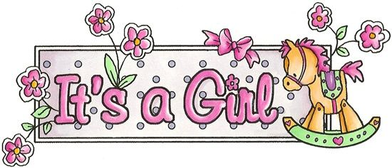Its A Girl Banner Template Spring/Summer 2...