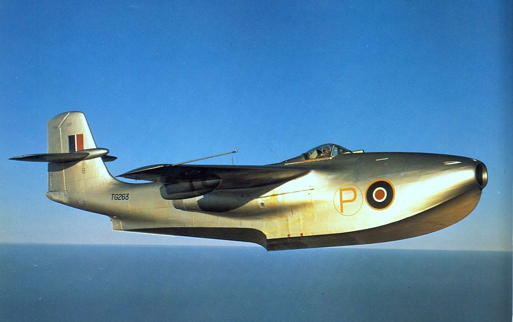 Fastest Jet In The World >> The Wwii Saunders Roe Seaplane Jet Fighter Was The Fastest Jet