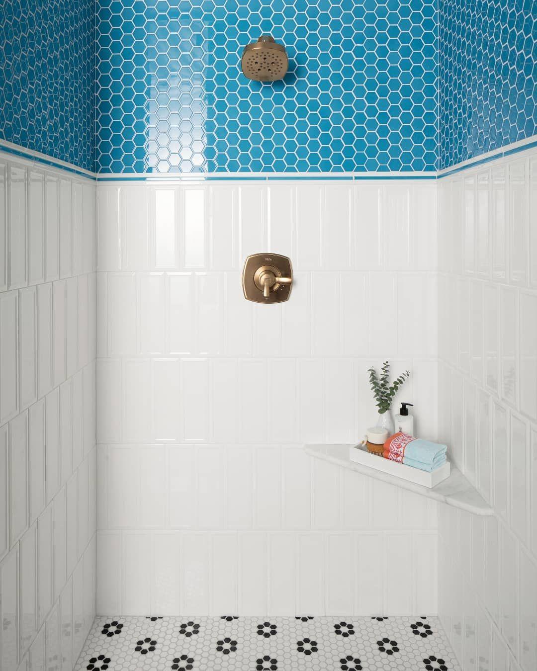 Something Bright Blue Shiny And New Bathroom Wall Tile Design Bathroom Decor Colors Latest Bathroom Tiles Design