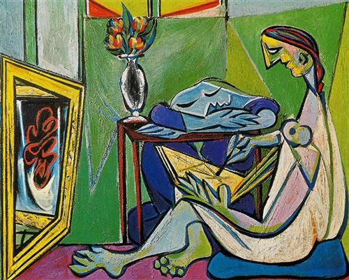 A muse - Artist: Pablo Picasso Completion Date: 1935 Style: Cubism ...