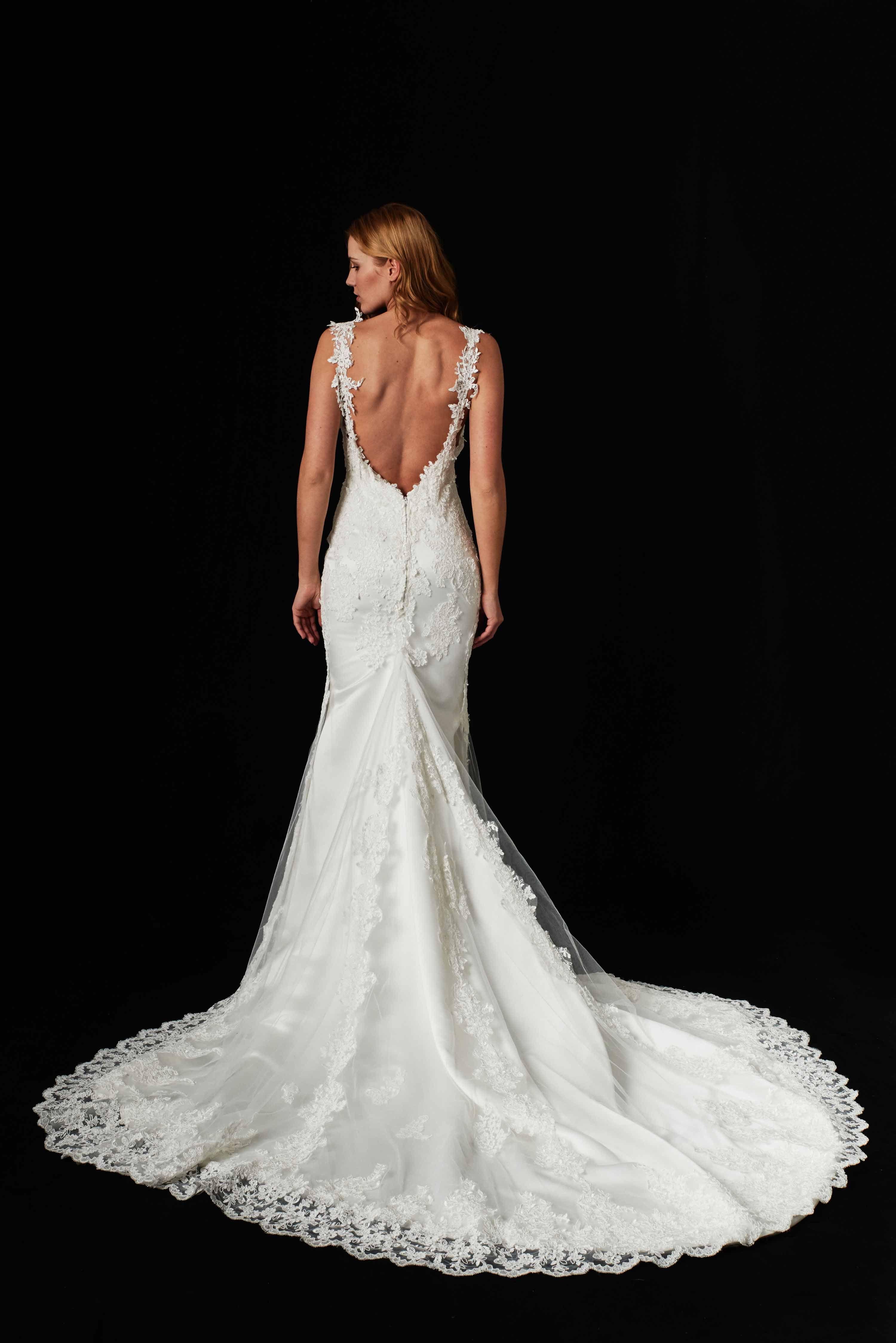 Unser Couture Kleid Isabelle ist das Kleid für den dramatischen und ...
