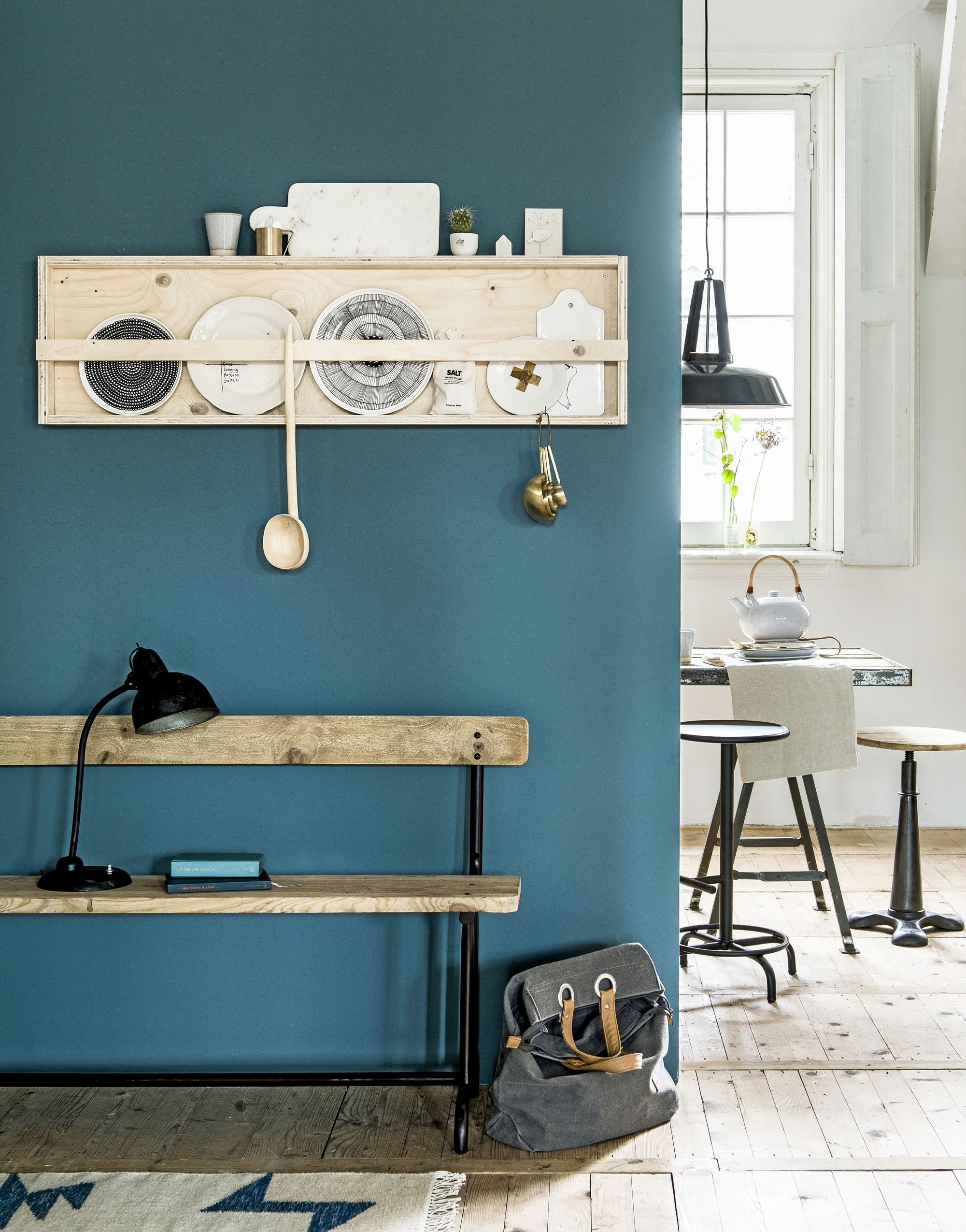 petrol blue vtwonen - Google zoeken - woonkamer | Pinterest - Borden ...
