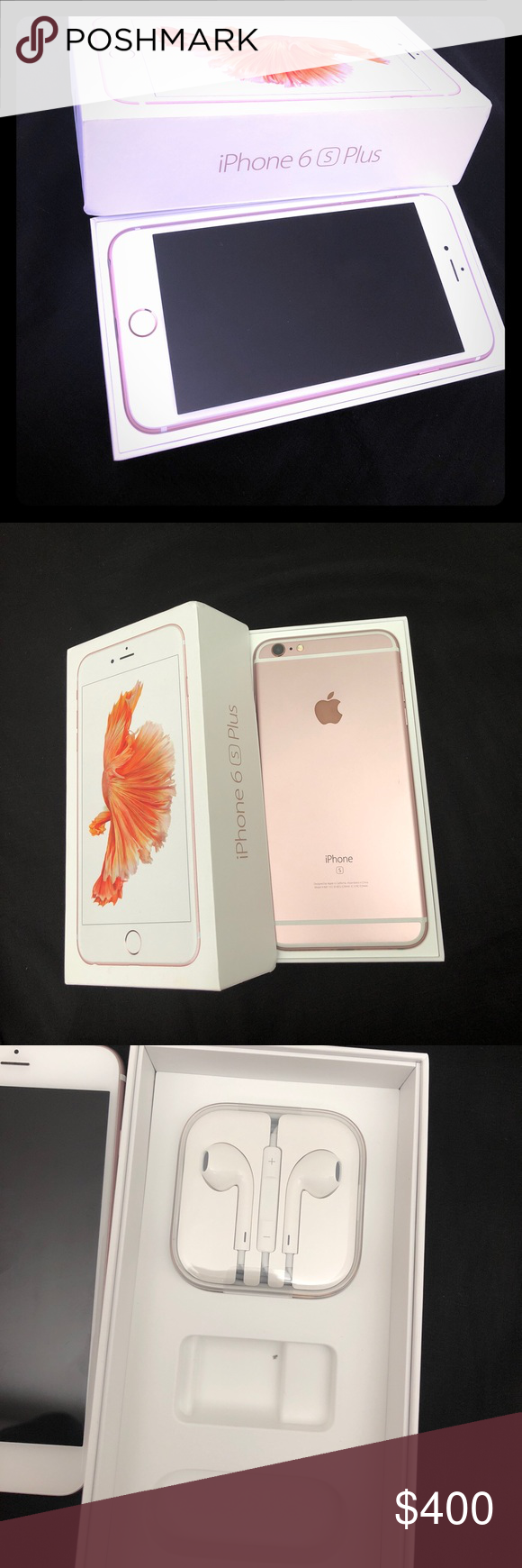 iPhone 6s Plus Rose Gold (TMobile) 64gb In great working