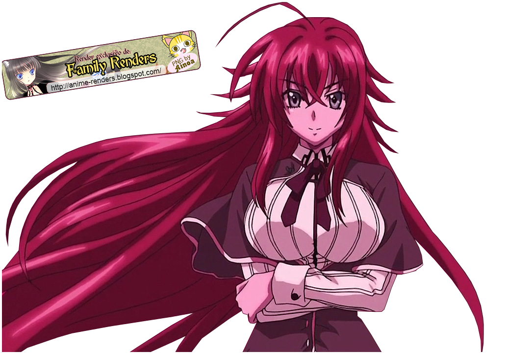Family Renders Png Rias Gremory Dxd Png Highschool Dxd