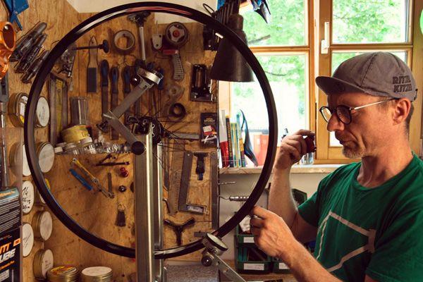 Ritzel Kitzel Bike Bambus, Selber bauen