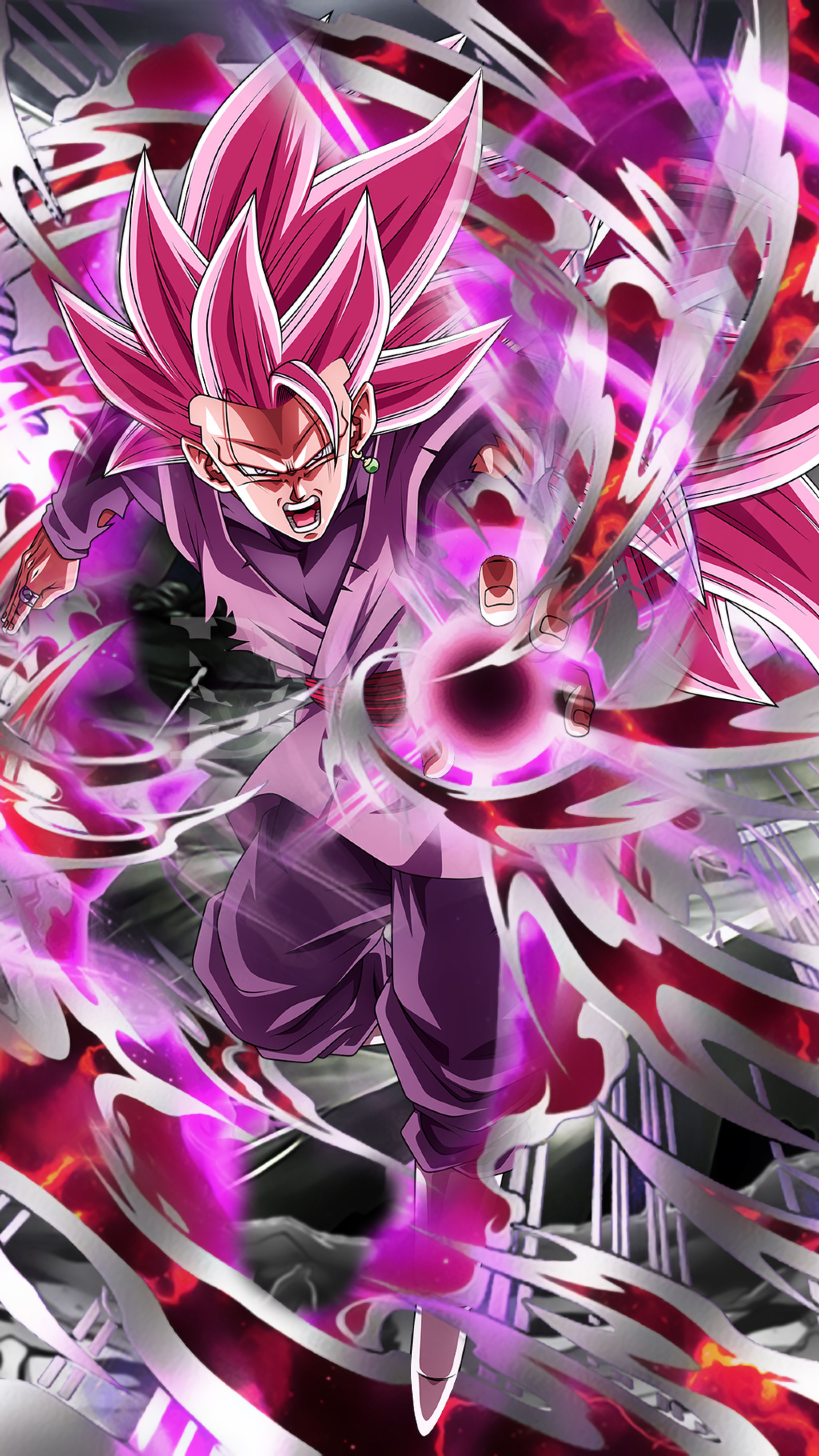 Goku Black Super Saiyan Rose 3 Wallpaper By Davidmaxsteinbach On Deviantart Dragon Ball Artwork Dragon Ball Goku Anime Dragon Ball