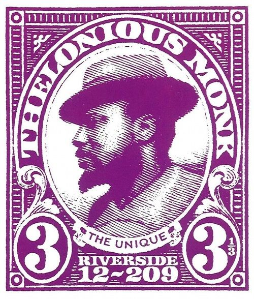 Thelonious Monk Quot The Unique Quot Jazz Stamp Stamps