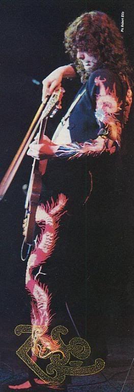 Jimmy Page of Led Zeppelin #LedZeppelin