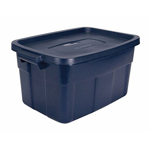 Rubbermaid 53 0l Roughneck Tote Storage Container Rubbermaid Https Www Amazon Ca Dp B00n3sxnbo Ref Cm Rubbermaid Storage Storage Bins With Lids Storage Bins