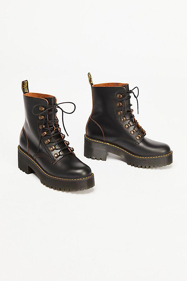 9b63407b4 Dr. Martens Leona Platform Ankle Boot in 2019 | style | Platform ...