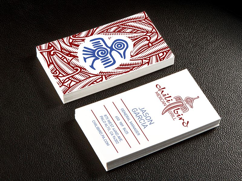 Chili Bird Logo & Business Card Design | Business cards, Logos and ...