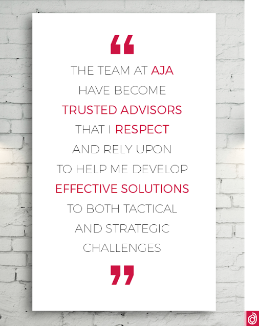 """""""Trusted advisors"""" - that's how our clients think of us. In #marketing, there's no better advertising than direct feedback from a client; we relish it. Contact us today, or click the link to find out more, and discover how we can provide effective solutions for your business today: http://bit.ly/ajadesignArnold Jones Associates Design Limited - Google+"""