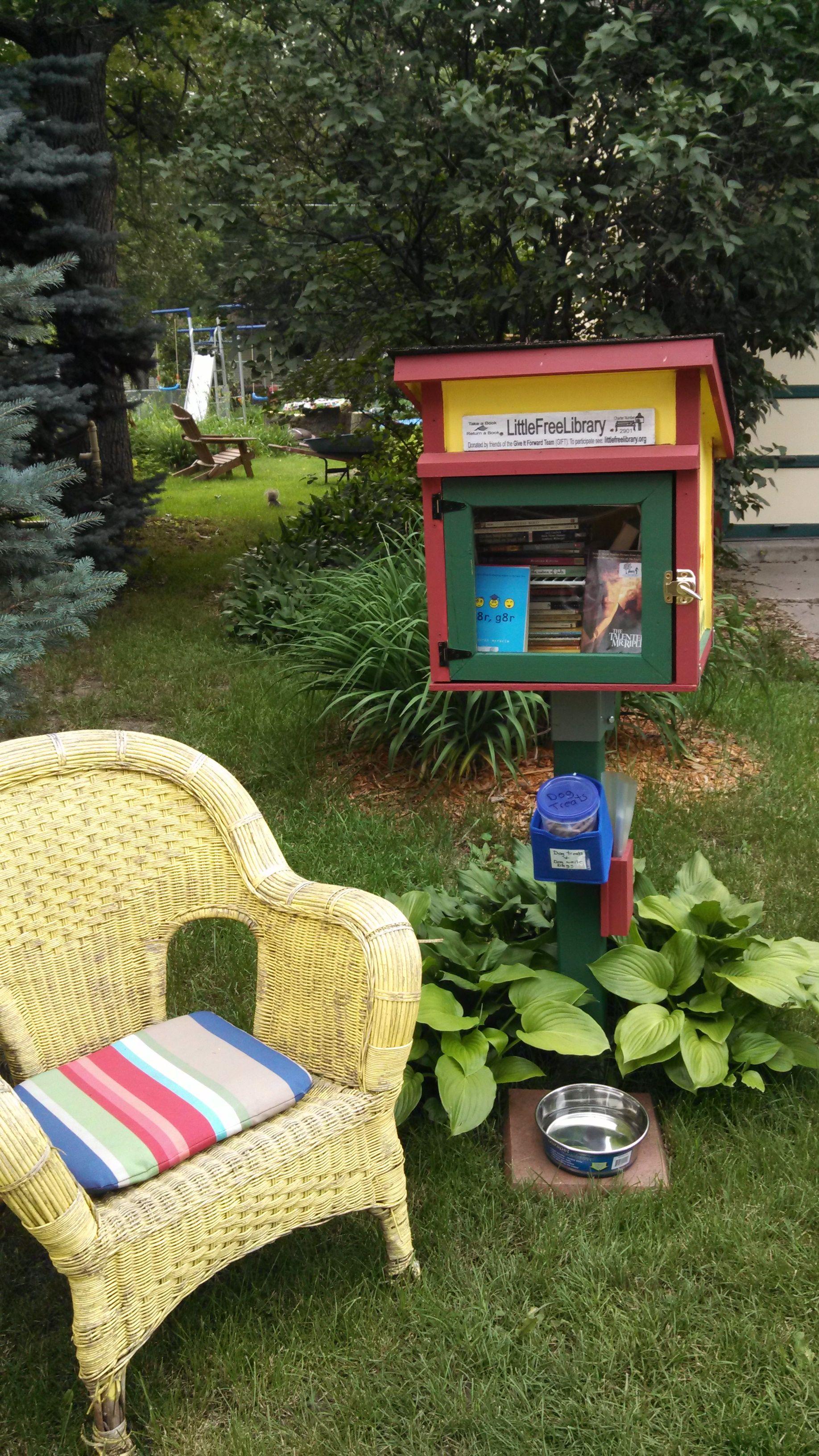 Cindy Roberts. Iowa City, IA. Little free libraries