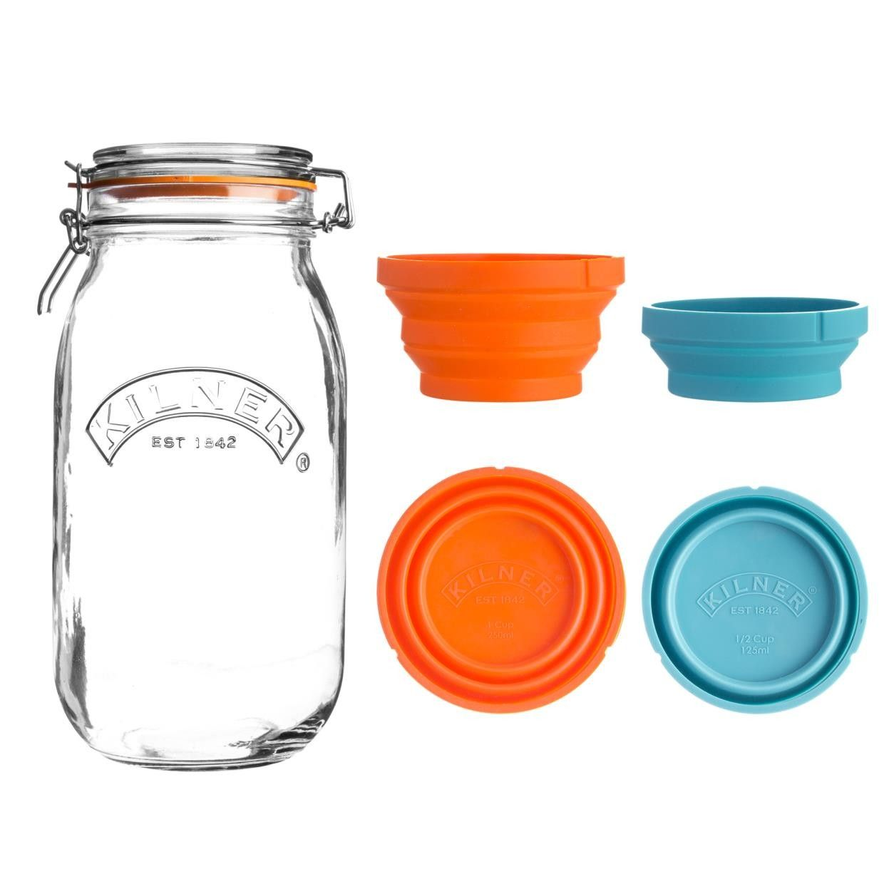 Measure And Store Jar Set 3lt